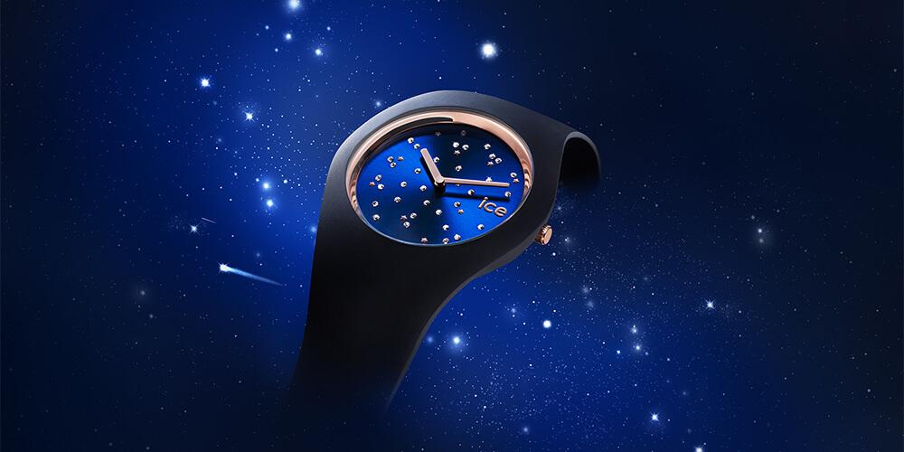 アイスウォッチの新作「ICE cosmos」 宇宙に広がる多彩な星をスワロフスキーで表現
