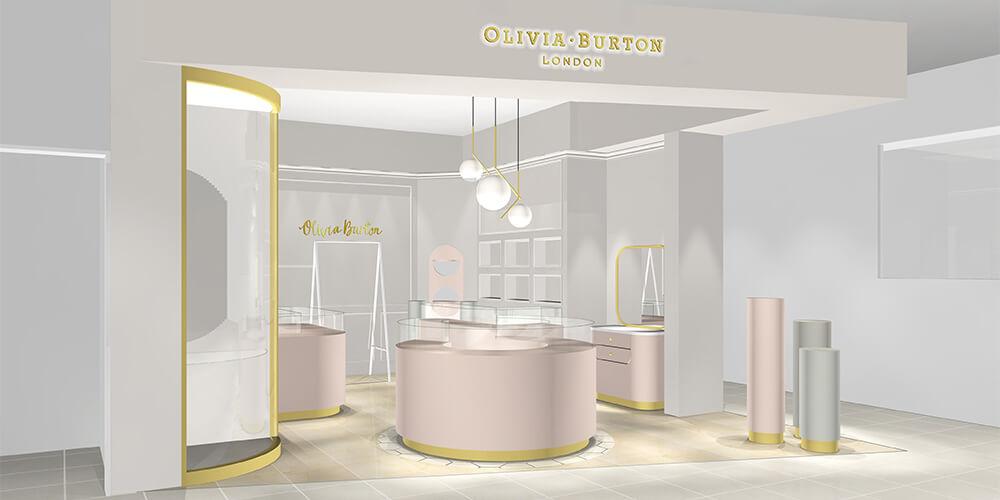 ロンドン発「オリビア・バートン」のフルラインナップが揃う国内1号店が大阪にオープン