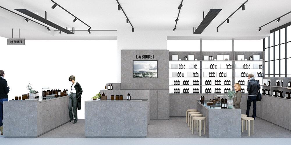 スウェーデン発ライフスタイルオーガニックブランド「L:A BRUKET」が大丸心斎橋店本館7Fに関西初の直営店をオープン