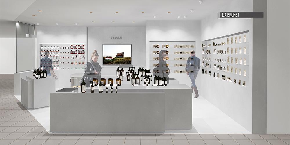 スウェーデン発のオーガニックブランド「L:A BRUKET(ラ・ブルケット)」が渋谷PARCOへ直営店をオープン