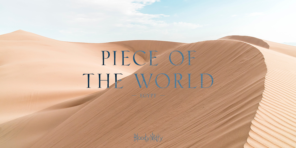 Bloody Maryより新たなコレクション「Piece of the World」がリリース