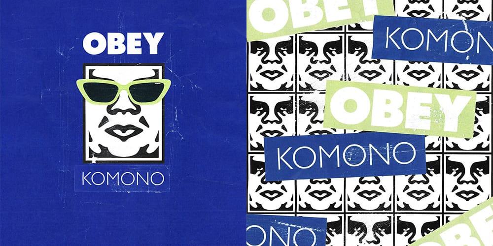 KOMONO ✕ OBEY コラボアイウェア3型発売